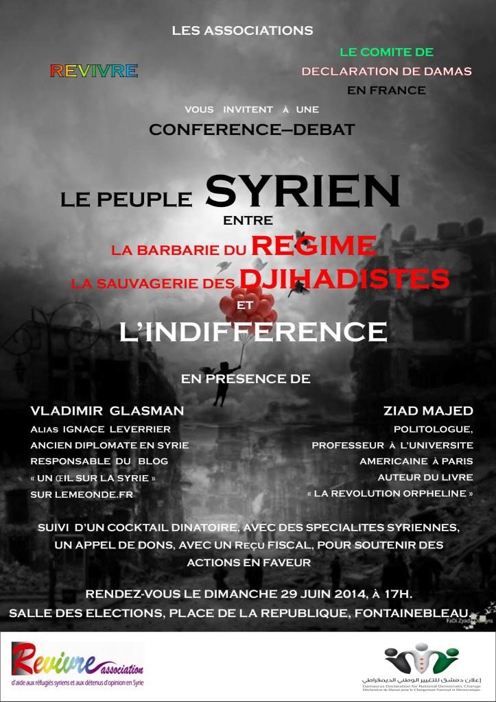 Le peuple Syrien entre la Barbarie du Régime, la Sauvagerie des Djihadistes et l'indifférence.