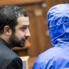 """Première apparition publique de """"César"""", ex-photographe de la police militaire syrienne, au Congrès US"""