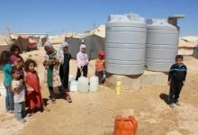 En Jordanie, les réfugiés syriens manquent d'eau