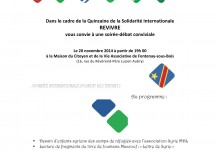 Le 20 novembre : Soirée-débat de Revivre à l'occasion de la Journée internationale du droit des enfants