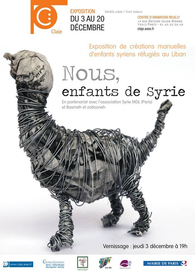 B Nous les enfants de Syrie Expo