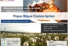 Pique-nique franco-Syrien de Revivre le (24/01) لقاء روفيفر السوري الفرنسي  بتاريخ