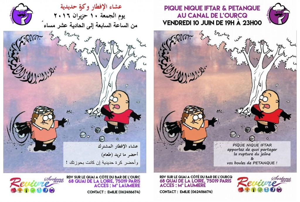 20160510 Pique Nique Iftar  G2 AR & FR