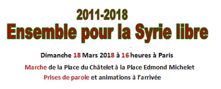 Znsemble our la Syrie Libre