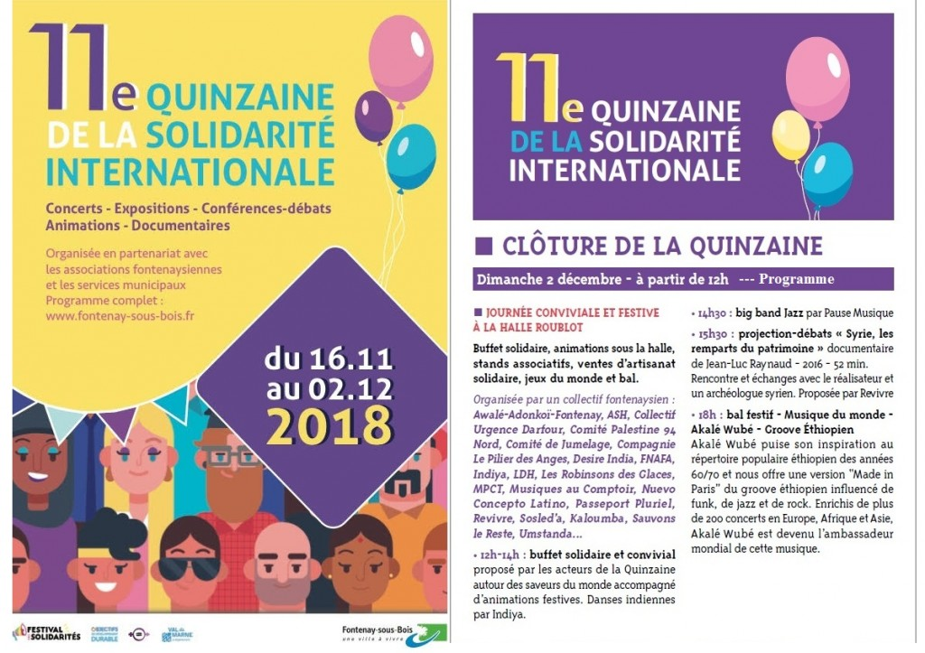 15aine de Solidarité 2 photos